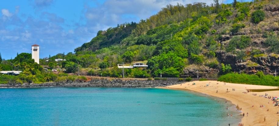 Hang out at Waimea Bay